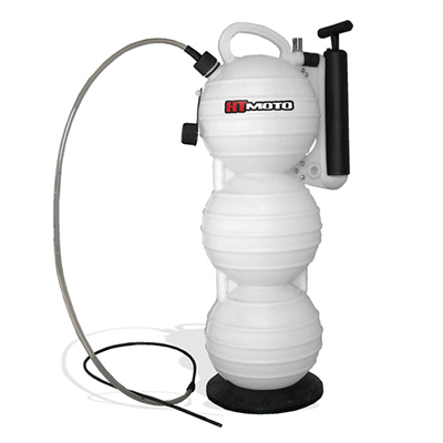 extracteur d 39 huile de vidange par aspiration hydro turf 15 litres. Black Bedroom Furniture Sets. Home Design Ideas